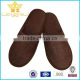 Wholesale Good Quality Comfortable Terry Towel Closed Toe Raw Materials for Men Slipper