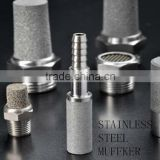stainless steel/bronze/copper/brass powder sintering filter element