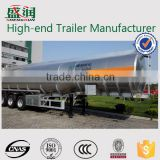 China Shandong 3 Axles Fuel Tanker Oil Tank Chemical Tankers Truck Trailer