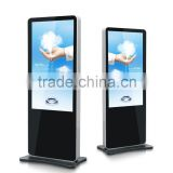 46inch floor stand digital advertising display / shopping mall digital signage display / full HD lcd advertising panel
