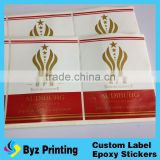 heteroideus fan-shaped pet/pvc shrink sleeve label manufacturer shrink wrap bottle labels blank sleeve label