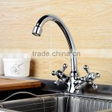 QL-3205 lead-free single handle high quality kitchen mixer tap brushed stainless steel faucet with swivel spout