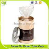 Customized twisted push up kraft paper tube for food