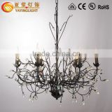 cast iron lamp pole,led pendant lamp,crystal chandelier wedding cake stand