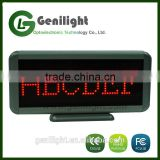Programmable LED Moving Display Sign Board Scrolling Message Red