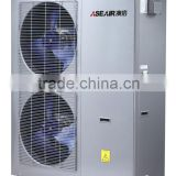 Low temperature heat pump fro heating cooling and dhw hot water