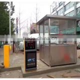 automotive car barrier gate fee collection parking management system with card dispensing system