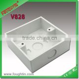 pvc electrical switch box 86*86 junction box
