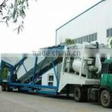 China manufacturer Small industry machinery YHZS50 Mobile Types of Concrete Batching Plants for sale