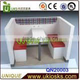 Customized nail kiosk&nail bar kiosk for manicure&armchairs for manicure