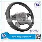 2014 Car accessories genuine leather steering wheel covers for BMW from factory