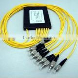 1*2/1*4/1*6/1*8/1*12/1*18/1*32 SC/FC/ST APC/UPC fiber optic splitter for FTTH with competitive price
