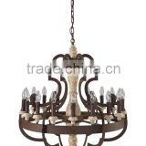 Scandinavialamp Vintage Chandelier Crystal Lighting Fixtures Ceiling Pendant Lamp for Banquet Room