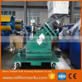 steel truss profiles light keel roll forming machine/Automatic construction metal T grid ceiling