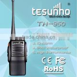 protable waterproof high battery quality TH-950 uhf/vhf transceiver 10w