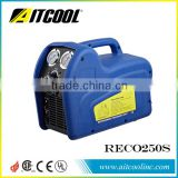Portable air conditioner R134A R410A gas refrigerant recovery recycling unit manufacturer RECO250S