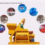 Js1500 Belt Loading Weigh Batching 1500 Litre Concrete Mixing Machine