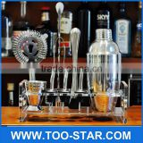Stainless Steel 750ml 25oz Wine Shaker Cocktail Martini Mixer for Barware Bar Cocktail Shaker