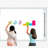 65-98 Inch infrared multi touch screen interactive whiteboard