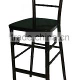 High quality cheap used solid wood chiavari bar stool high chair