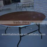 "DI60"" plywood ALU table edge folding table for banquet wedding"