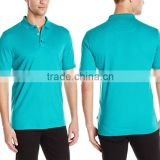 100% Cotton Custom Made Polo Shirt Solid Short Sleeve Contrast Men Casual Tshirt T Shirt For Work Wear In Bulk