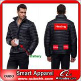 High Quality Ultralight Down Jacket For Men With Battery System Heating Clothing Warm OUBOHK