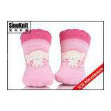Gerber Pink Infant Cute Cartoon Baby Boy Socks / Baby Girl Socks Anti-Bacterial