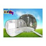 Round Clear Inflatable Lawn Tent Outdoor Bubble Camping Tent With 12 Months Warranty