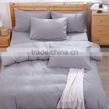 Made in China 100% polyester plain color microfiber bed sheets/bedding set/ duvet cover set