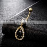 Gold Magnetic Navel Fashion Body Piercing Jewelry Fake Belly Button Ring