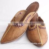 Women Sandal Jooti Mojari Indian Handmade Leather Juti Shoes Slipper