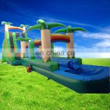Commercial inflatable jungle slide for sale,giant forest inflatable water slide