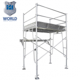 Safety and Stability Pre-galvanized Highly Quality Frame Scaffolding for constrution