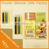 Hot selling sharpened kids drawing colored pencil