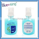 2012 New Formula With Vitamin E Blue-Touch Clean Protection Liquid Hand Soap, Pump (Pack of 24)17FL.OZ (500ml)