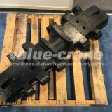 casting TEREX DEMAG CC2500 track shoe crawler crane track pad undercarriage parts track plate