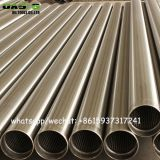 304 stainless steel wedge wire wrap screens for well drilling