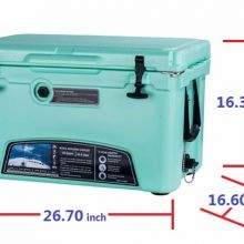 food grad outdoor camping rotomolded plastic cooler box ice chest