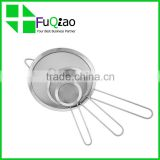 Cooking Tools food grade popular stainless steel wire mesh colander strainer                                                                         Quality Choice