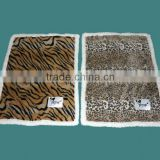 Pet product,sherpa blanket with animal print
