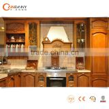 Top modern design high quality solid wood kitchen cabinet,ready to assemble kitchen cabinets
