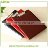 4 colors customizable PU leather double sided clip board for office gift                                                                                                         Supplier's Choice