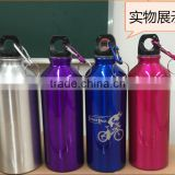 Hot Customized logo Promotional Stainless Steel Insulated Sports Water Bottle With Carabiner