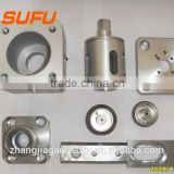cnc machining process for light sensors/Metal surface treatment, sandblasting spray processing