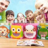 Creative Smiling Face Cartoon Animal Kids Storage Organizer Toy Drawer Storage Box Trade Assurance Supplier