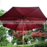 Top Quality 5 star hotel Wooden Umbrella for pool