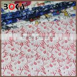 Garment Accessories new design embroidery fabric dyed customized macrame fabric for clothes