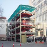 easy operation combilift car park equipments for car service centre
