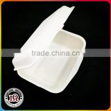 Disposable sugarcane white bagasse eco friendly food containers                                                                         Quality Choice